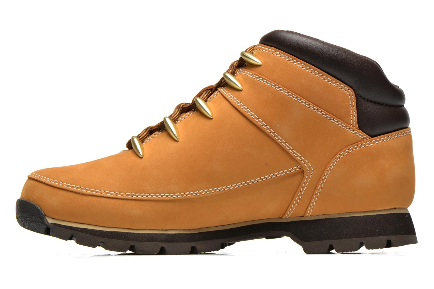 Lace-up shoes Timberland Euro Sprint Hiker Beige front view