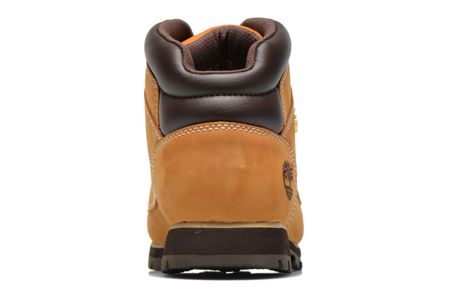 Lace-up shoes Timberland Euro Sprint Hiker Beige view from the right