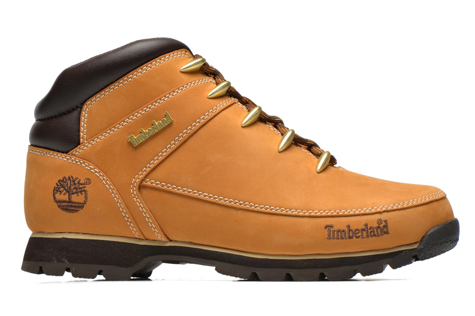 Lace-up shoes Timberland Euro Sprint Hiker Beige back view