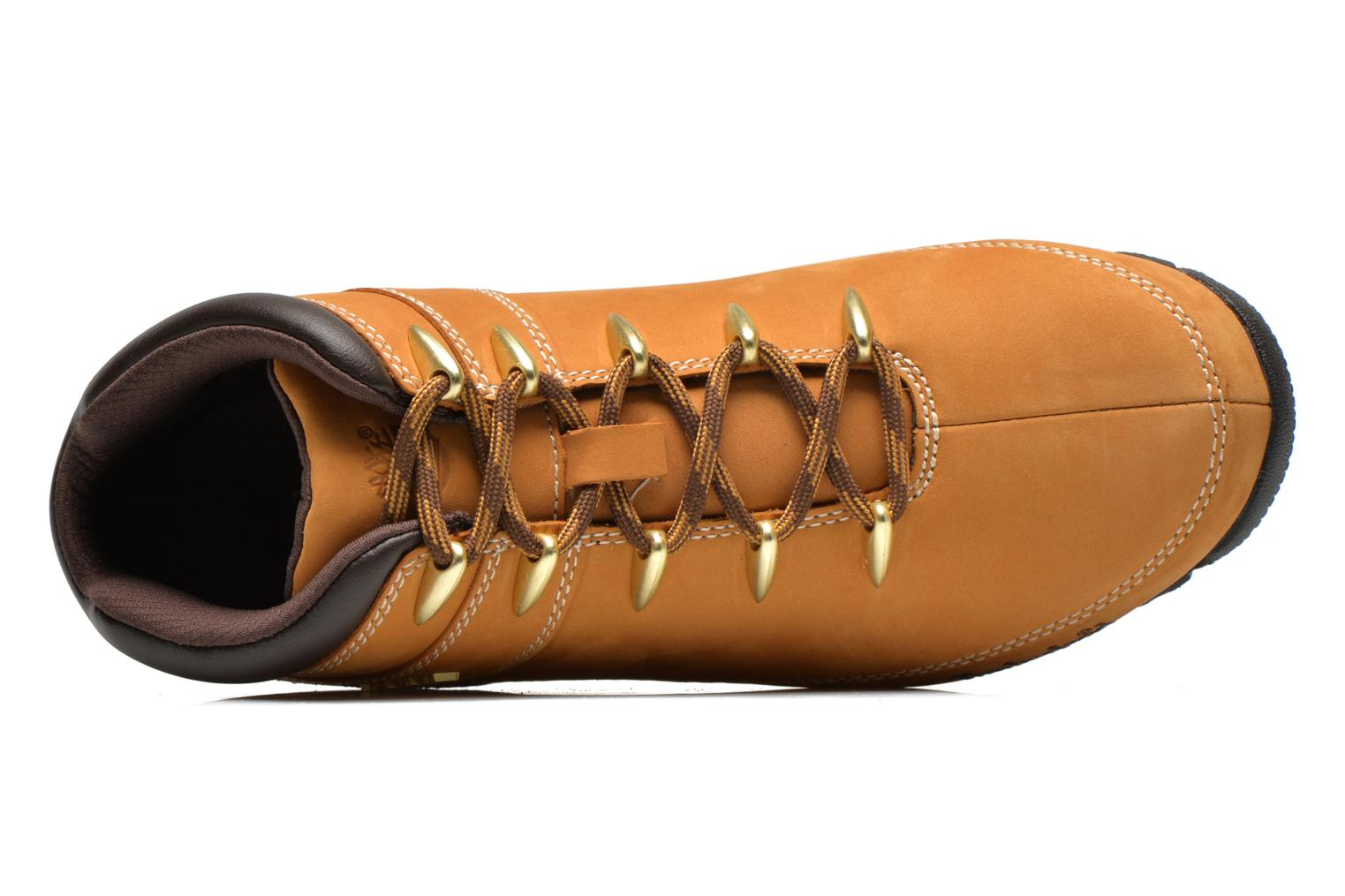 Lace-up shoes Timberland Euro Sprint Hiker Beige view from the left