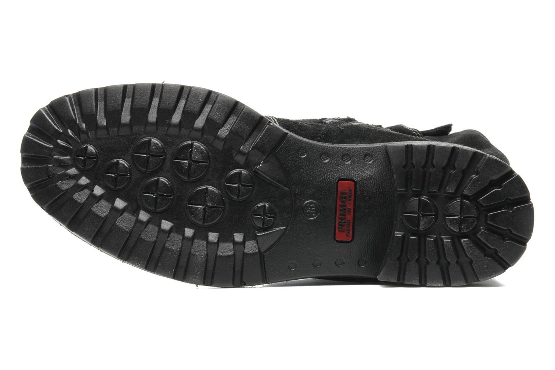 Bottines et boots Primigi Gippur Noir vue haut