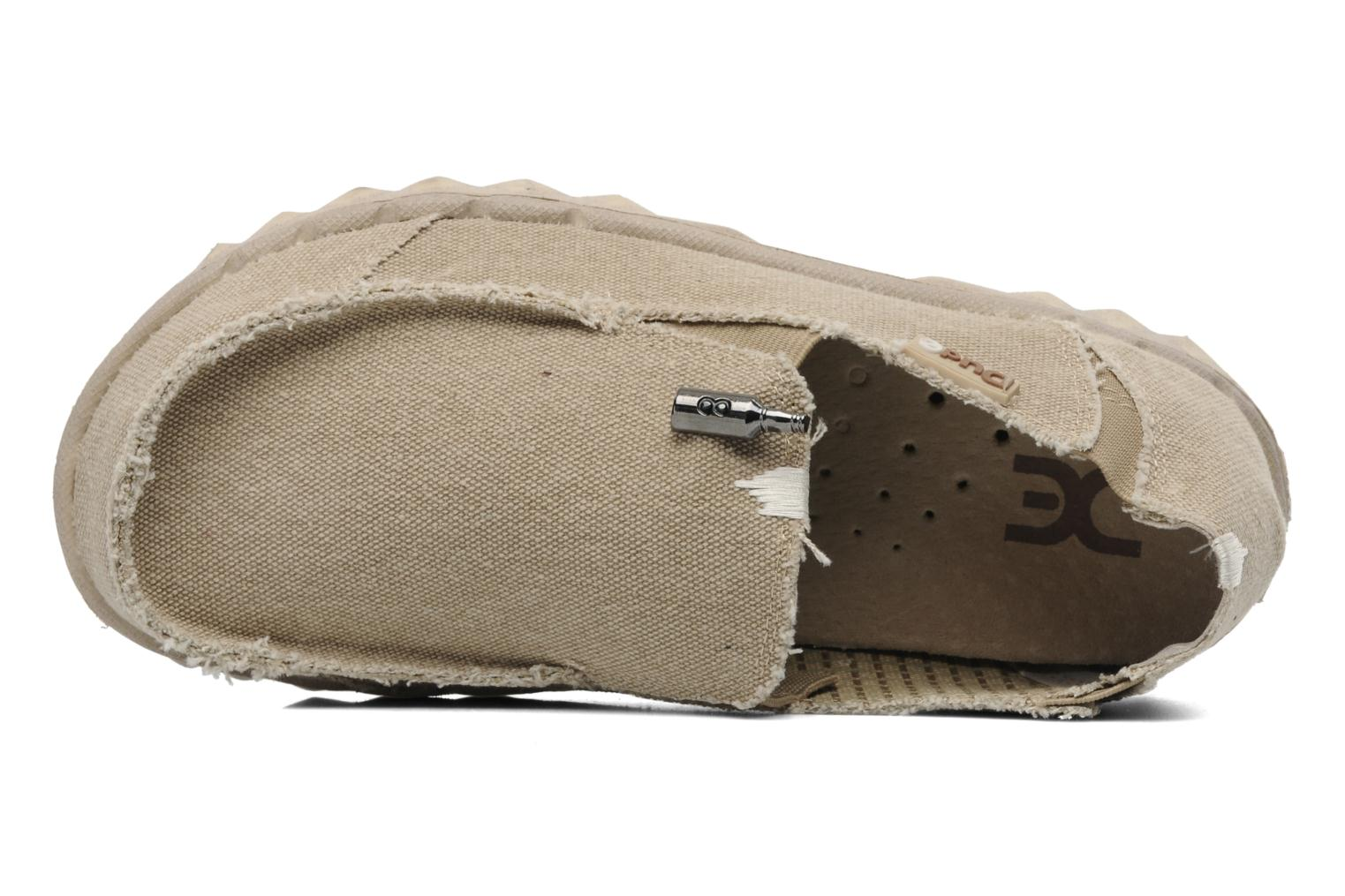 Mocassins DUDE Farty Classic Beige links