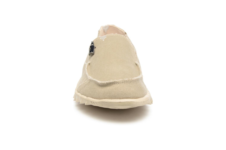 Mocassins DUDE Farty Classic Beige vue portées chaussures