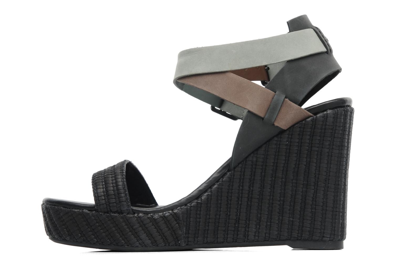 Sandales et nu-pieds Lacoste Kellam 2 Noir vue face