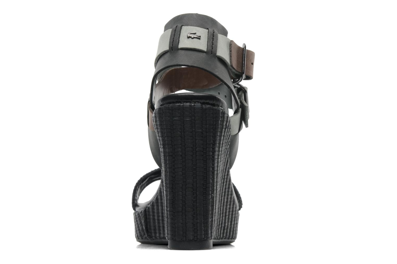 Sandales et nu-pieds Lacoste Kellam 2 Noir vue droite