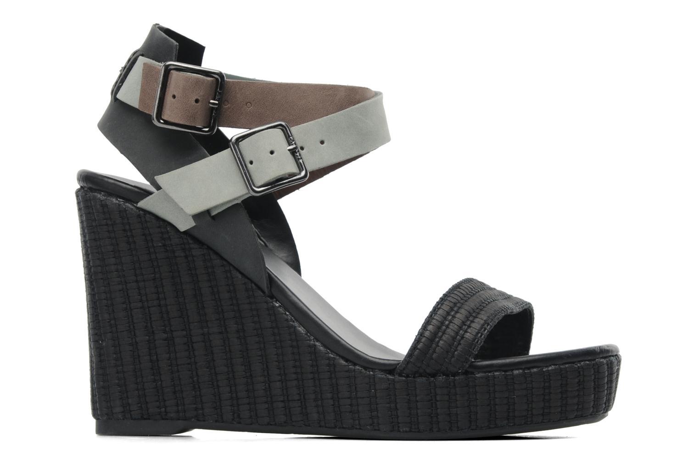 Sandales et nu-pieds Lacoste Kellam 2 Noir vue derrière