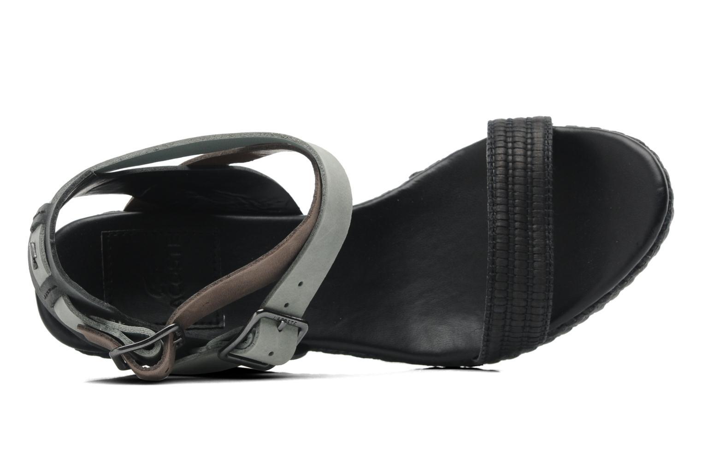 Sandales et nu-pieds Lacoste Kellam 2 Noir vue gauche