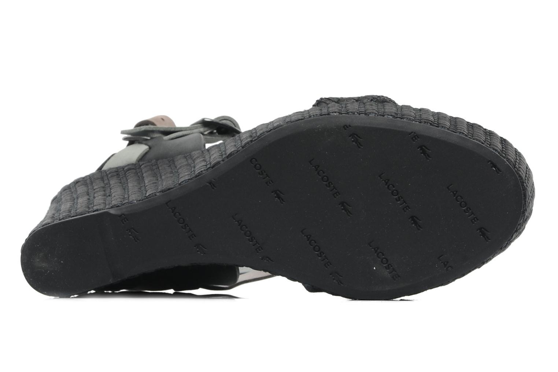 Sandales et nu-pieds Lacoste Kellam 2 Noir vue haut