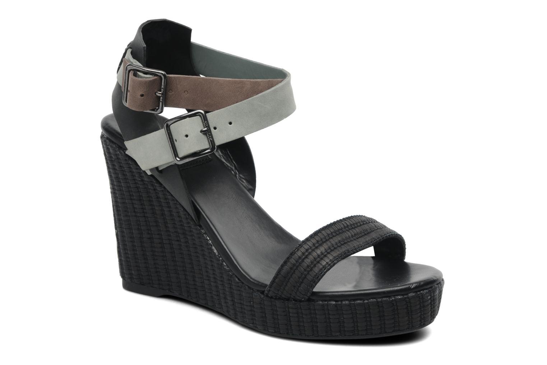 Sandales et nu-pieds Lacoste Kellam 2 Noir vue détail/paire