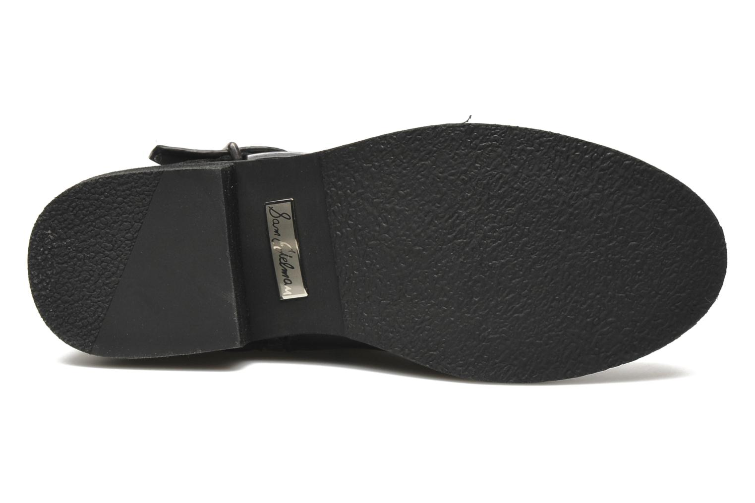 Bevin Black leather