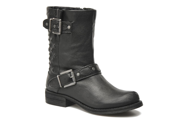 Bevin Black leather