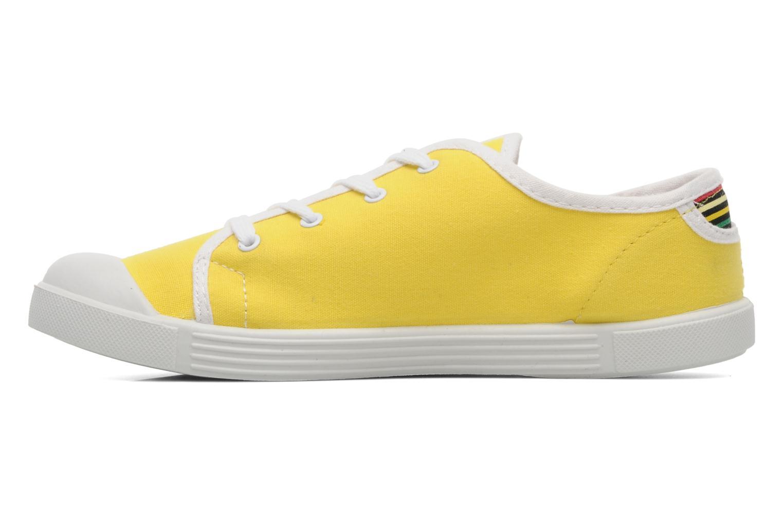Sneaker Little Marcel Samba Uni gelb ansicht von vorne