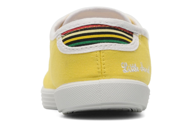 Sneaker Little Marcel Samba Uni gelb ansicht von rechts