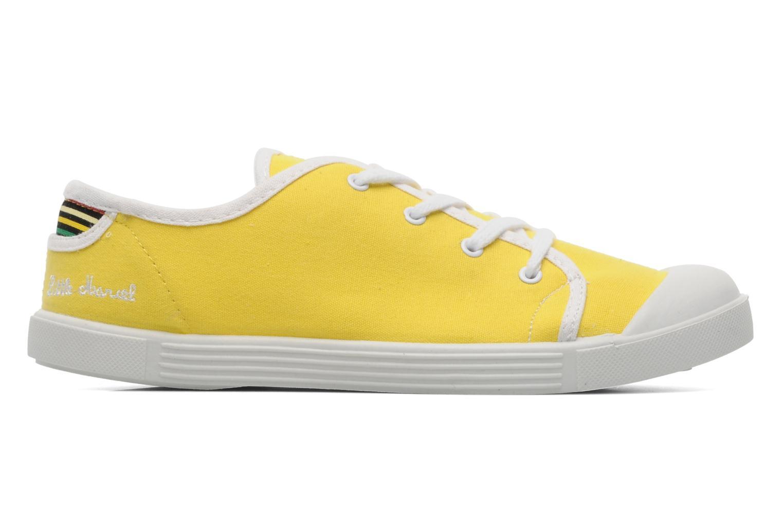 Sneaker Little Marcel Samba Uni gelb ansicht von hinten