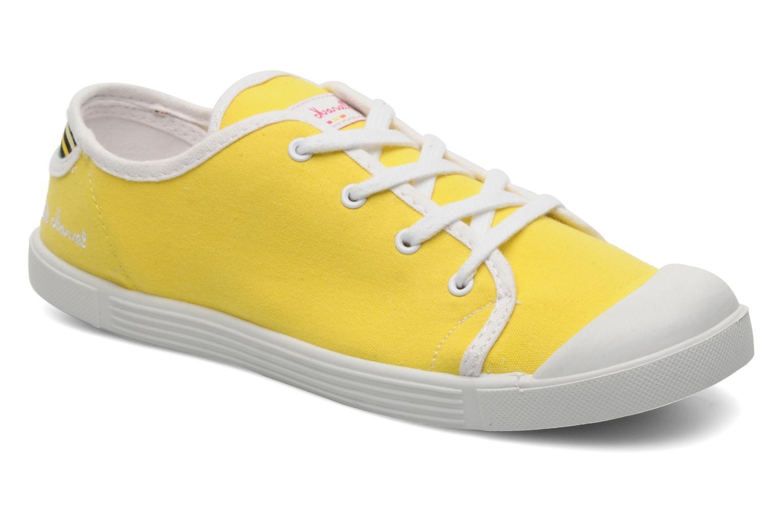 Sneaker Little Marcel Samba Uni gelb detaillierte ansicht/modell