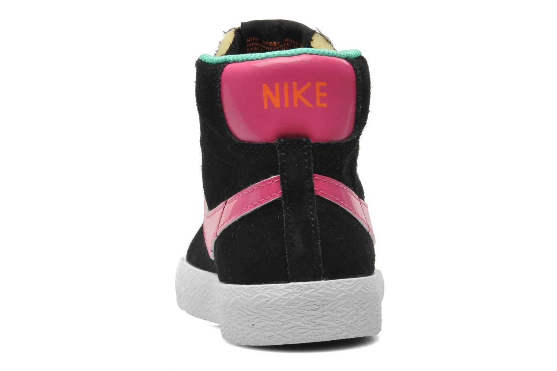 Sneaker Nike BLAZER MID (PS) schwarz ansicht von rechts