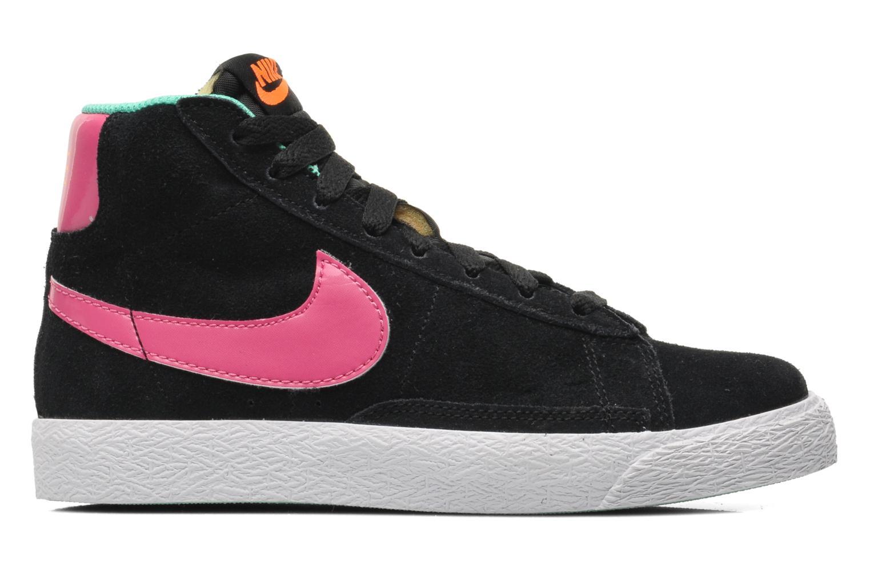 Sneaker Nike BLAZER MID (PS) schwarz ansicht von hinten