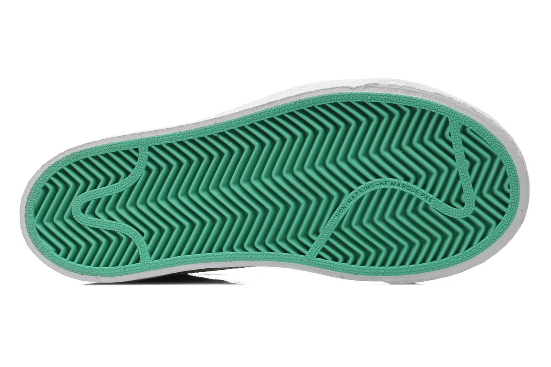 Sneaker Nike BLAZER MID (PS) schwarz ansicht von oben