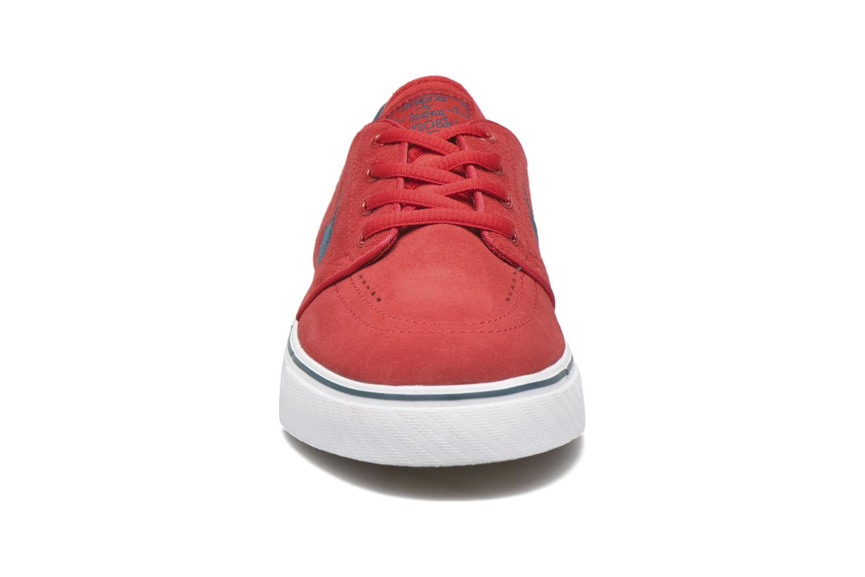 Sneaker Nike Stefan Janoski (GS) rot schuhe getragen