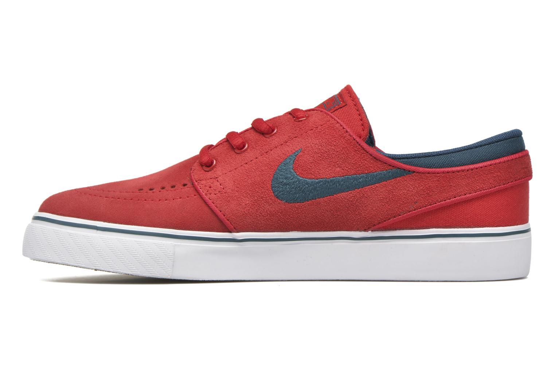 Sneaker Nike Stefan Janoski (GS) rot ansicht von vorne