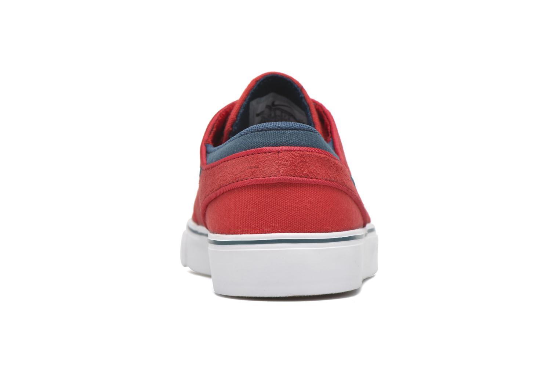 Sneaker Nike Stefan Janoski (GS) rot ansicht von rechts