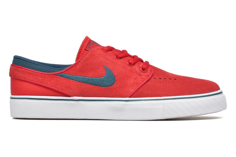 Sneaker Nike Stefan Janoski (GS) rot ansicht von hinten