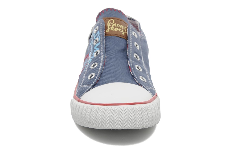 Sneaker I Love Shoes Jovenal blau schuhe getragen