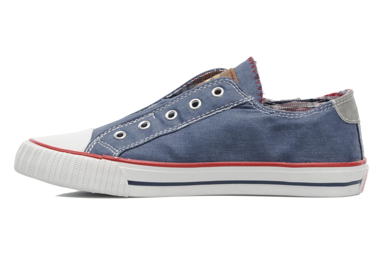 Sneaker I Love Shoes Jovenal blau ansicht von vorne