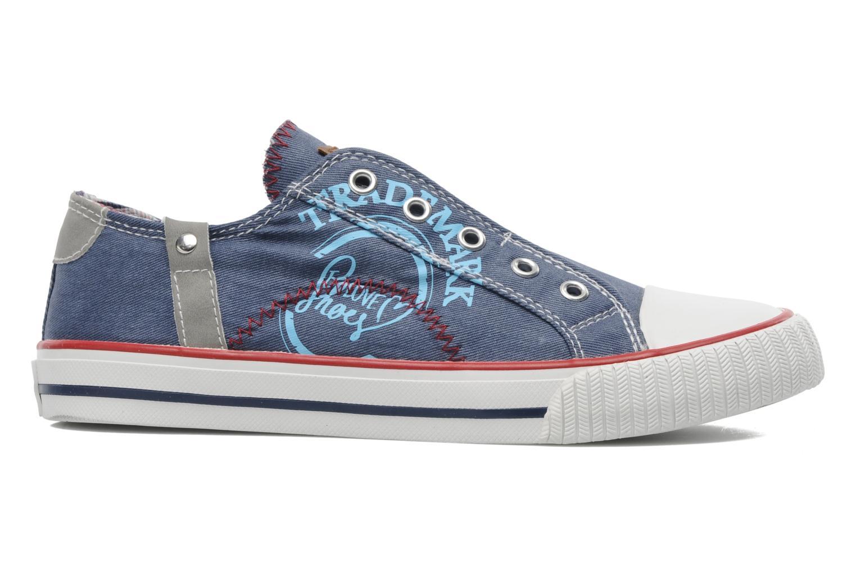 Sneaker I Love Shoes Jovenal blau ansicht von hinten