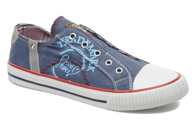 Sneaker I Love Shoes Jovenal blau detaillierte ansicht/modell