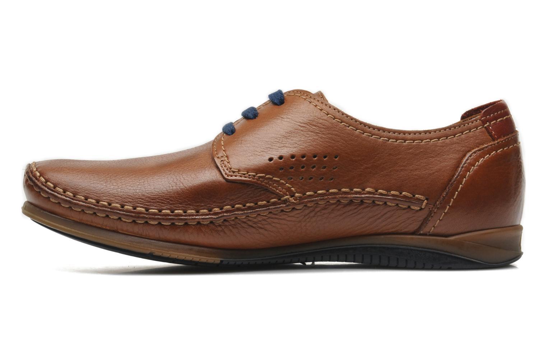 Zapatos con cordones Fluchos Catamaran 8566 Marrón vista de frente