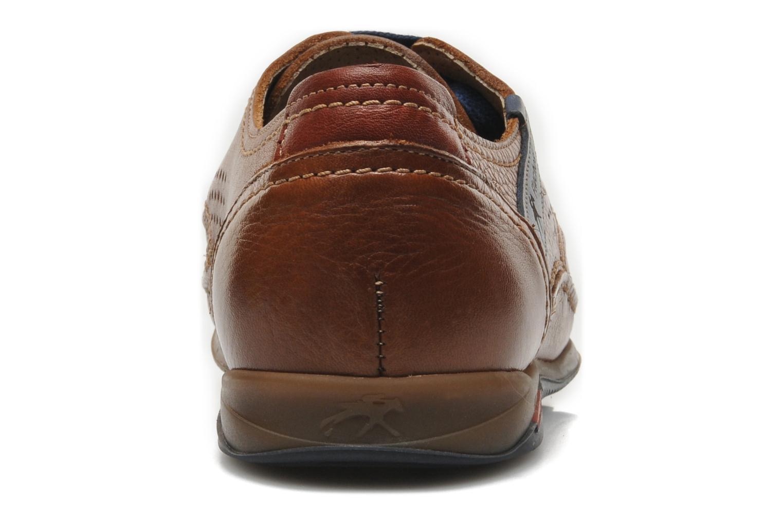 Zapatos con cordones Fluchos Catamaran 8566 Marrón vista lateral derecha