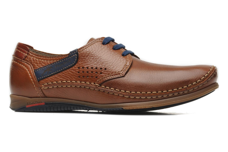 Zapatos con cordones Fluchos Catamaran 8566 Marrón vistra trasera