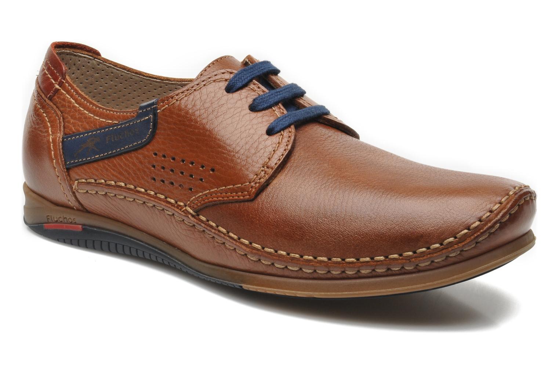 Zapatos con cordones Fluchos Catamaran 8566 Marrón vista de detalle / par