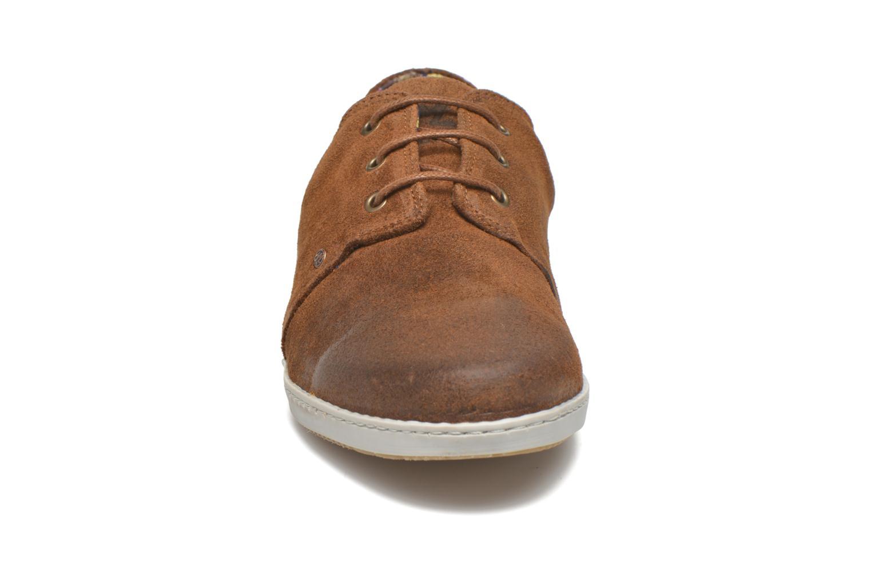 Baskets Mascaret Gaby Vintage Marron vue portées chaussures