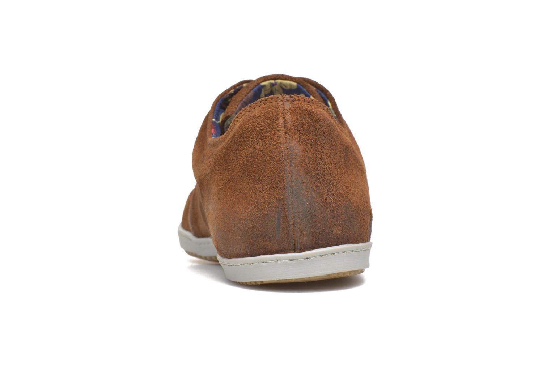 Baskets Mascaret Gaby Vintage Marron vue droite