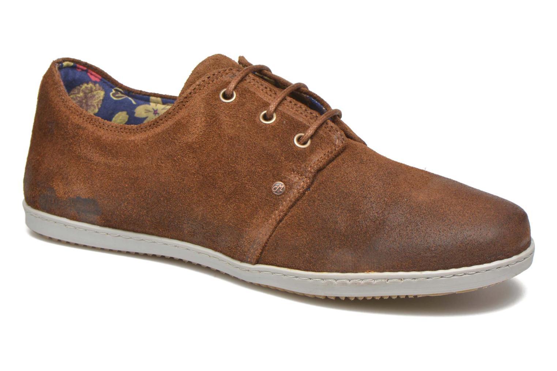 Sneakers Mascaret Gaby Vintage Bruin detail