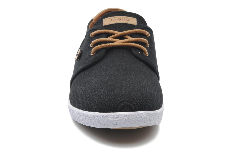 Sneakers Faguo Cypress Nero modello indossato