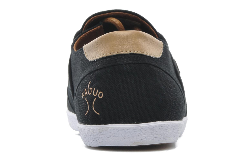 Sneakers Faguo Cypress Zwart rechts