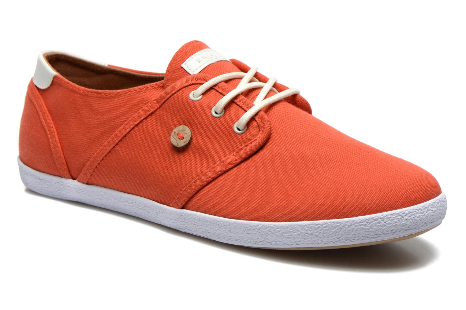 Sneakers Faguo Cypress Rood detail
