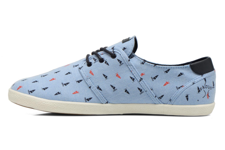 Sneaker Faguo Cypress blau ansicht von vorne
