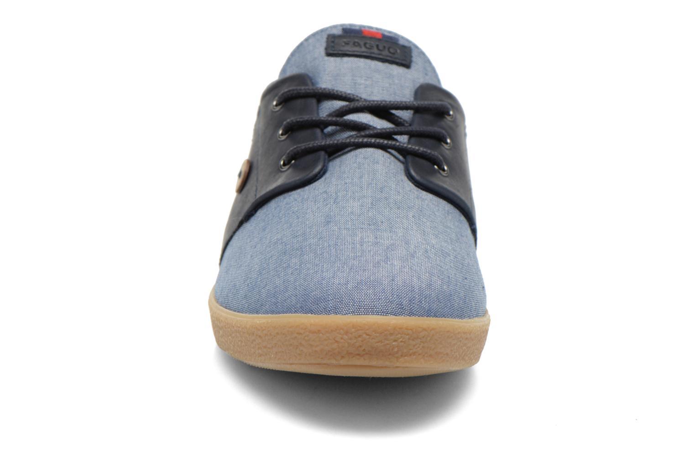 Baskets Faguo Cypress Bleu vue portées chaussures