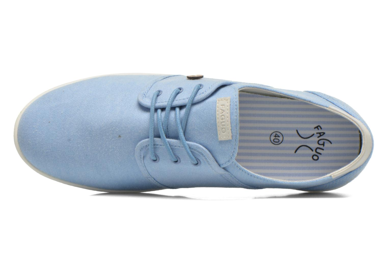 Sneakers Faguo Cypress Blauw links