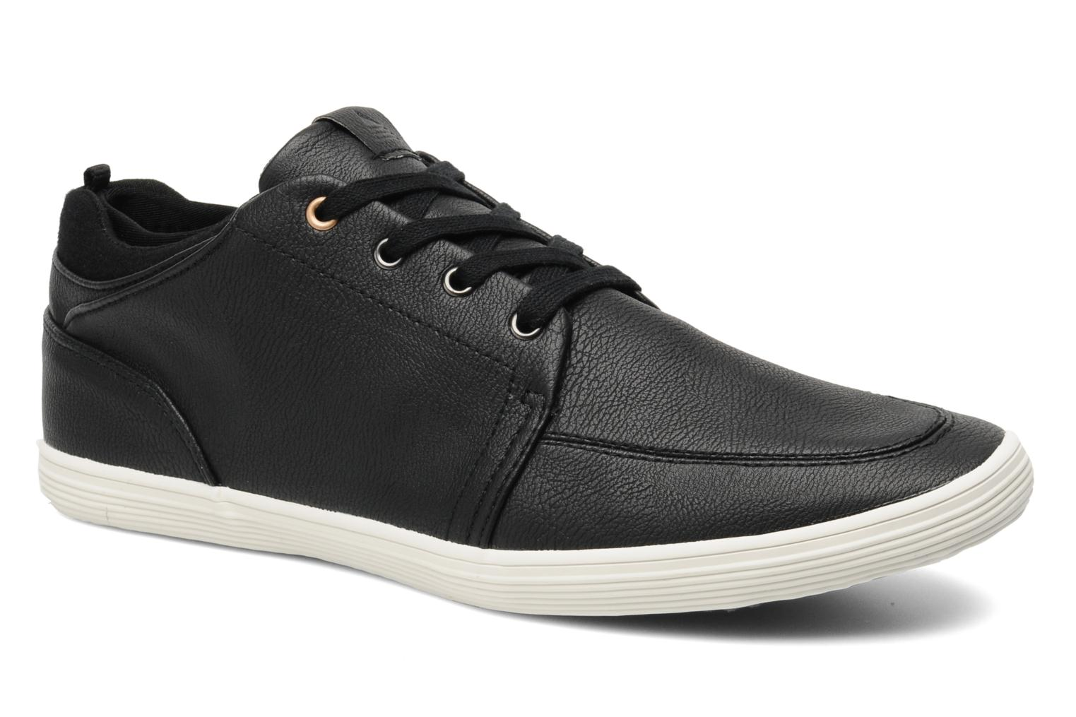 Terrall Black leather