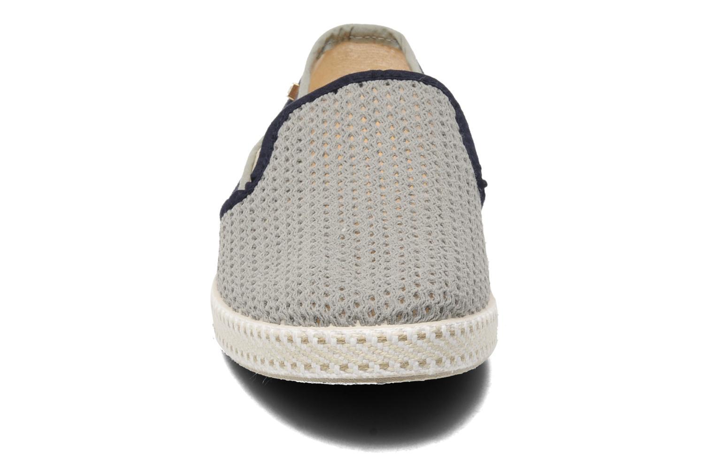 Espadrilles Rivieras Maltese Falcon Bleu vue portées chaussures