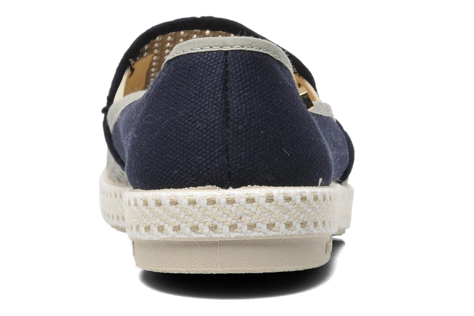 Espadrilles Rivieras Maltese Falcon Blue view from the right