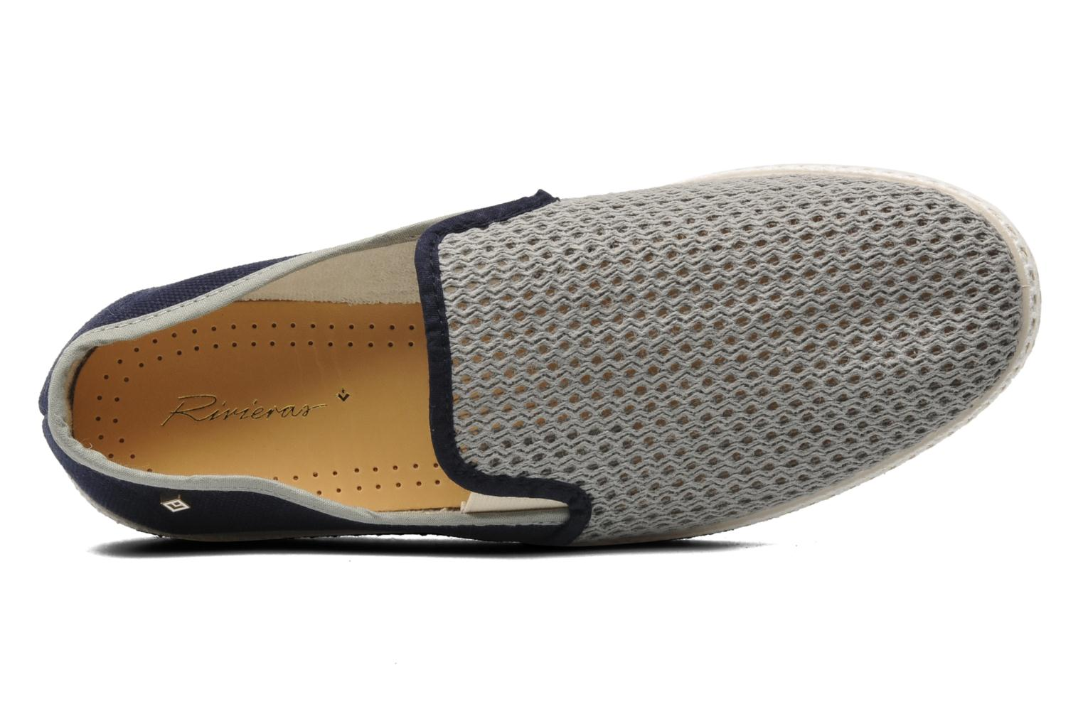 Espadrilles Rivieras Maltese Falcon Blue view from the left