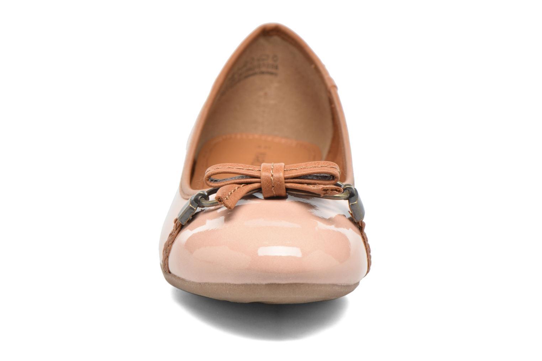 Ballerinas Marco Tozzi Macha rosa schuhe getragen