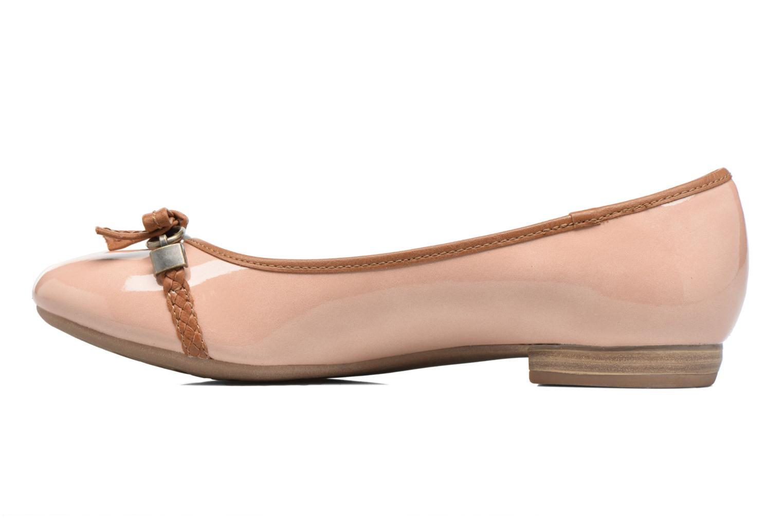 Ballerinas Marco Tozzi Macha rosa ansicht von vorne