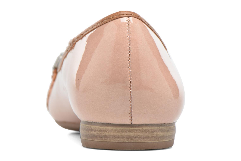 Ballerinas Marco Tozzi Macha rosa ansicht von rechts